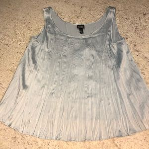 Eileen Fisher Silk Crinkle Tank PS NWT